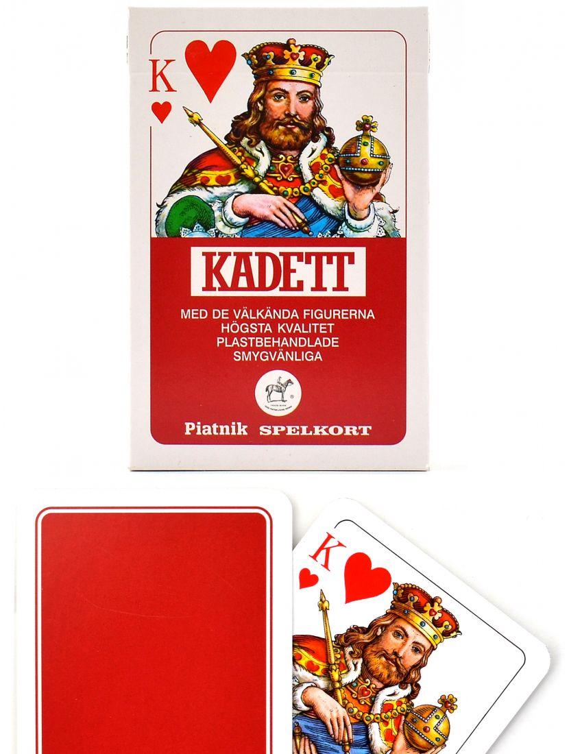 Карты игральные «Kadett» красные Piatnik