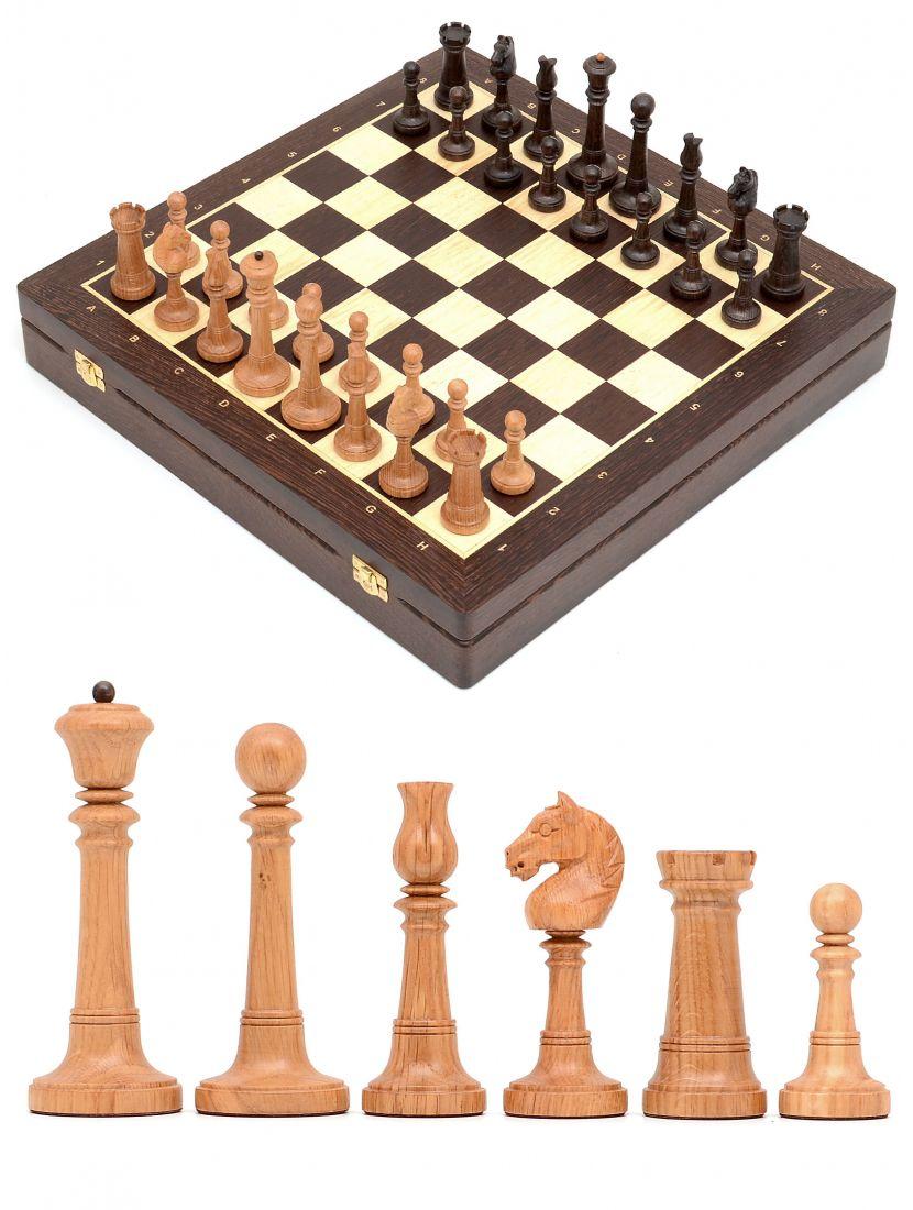 Шахматы в ларце из венге «Элеганс»