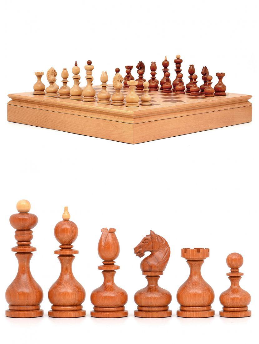 Шахматы «Суздальские» ларец дворянский бук