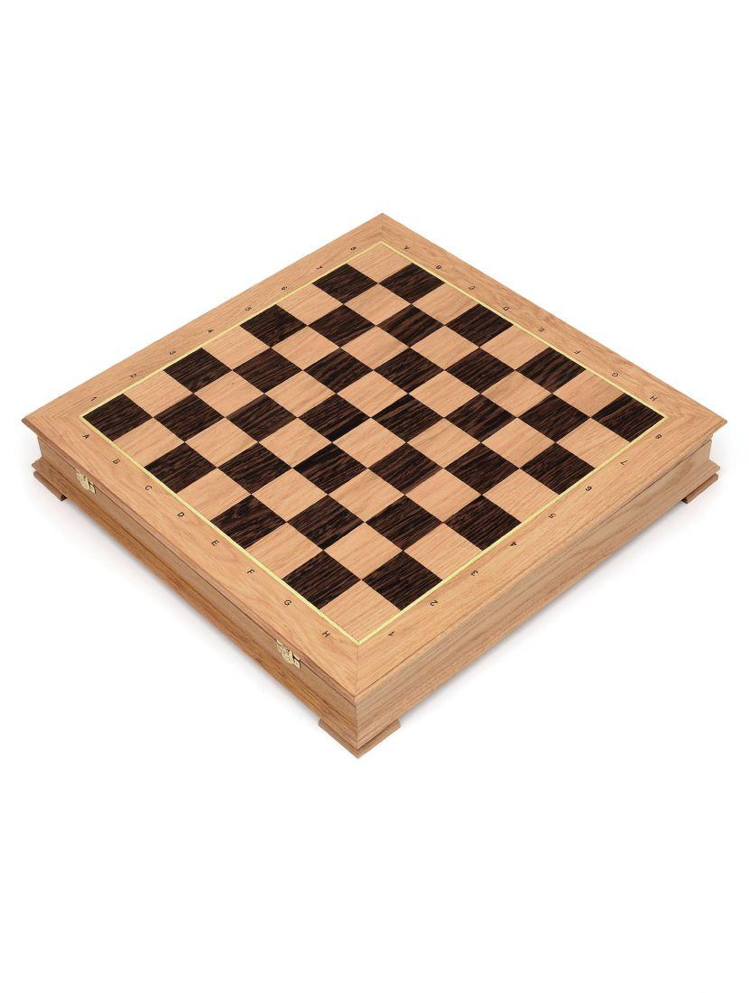 Шахматный ларец «Стаунтон» дуб 50 см