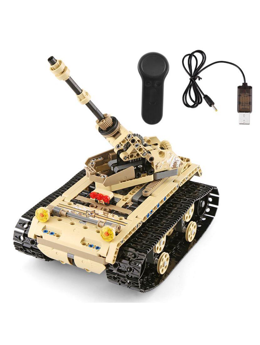 Конструктор «Лёгкий гусеничный танк» модель радиоуправляемая 13010 Mould King