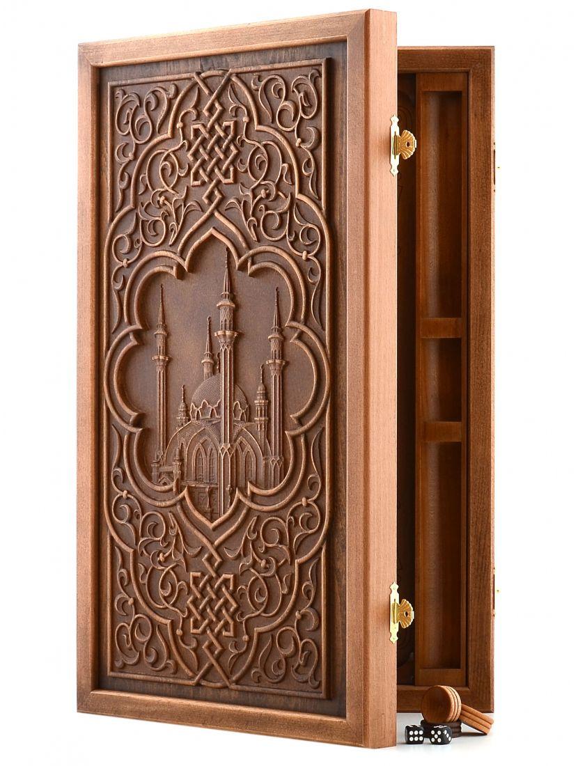 Нарды «Мечеть Кул-Шариф» патина бук