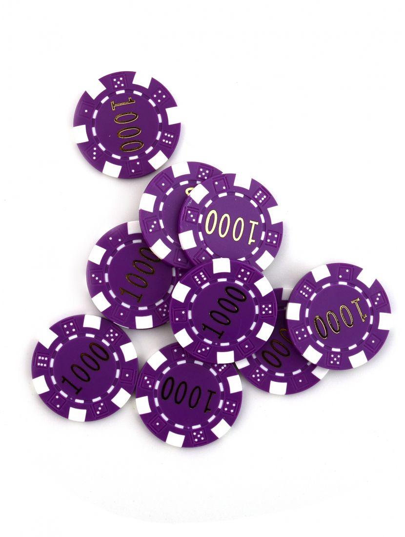 Фишки для покера «Slash» номинал 1000