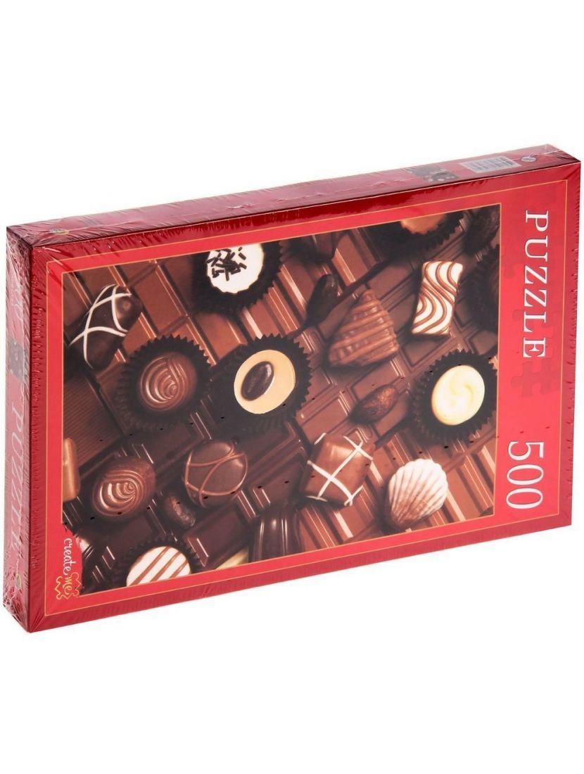 Пазл «Набор шоколадный конфет» 500 элементов