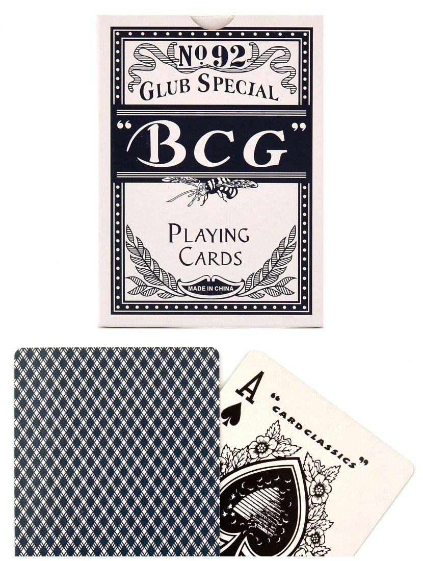 Карты «BCG» синие