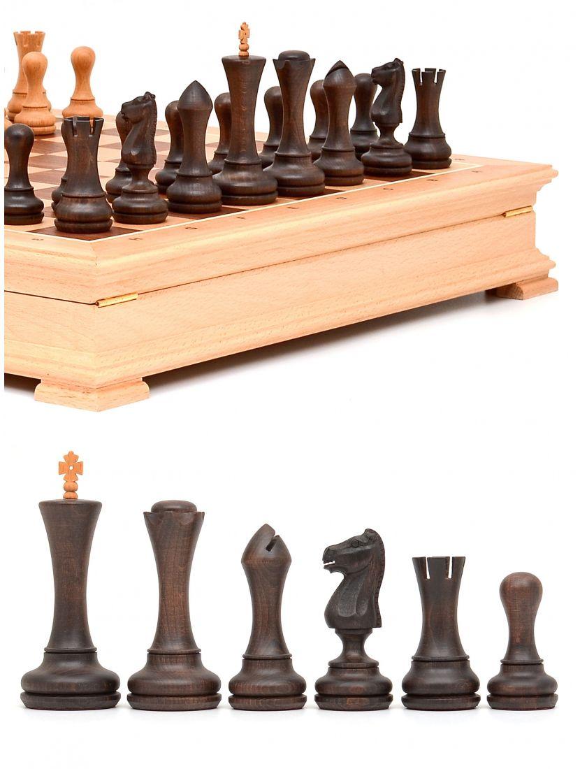 Шахматы «Престиж» ларец стаунтон бук
