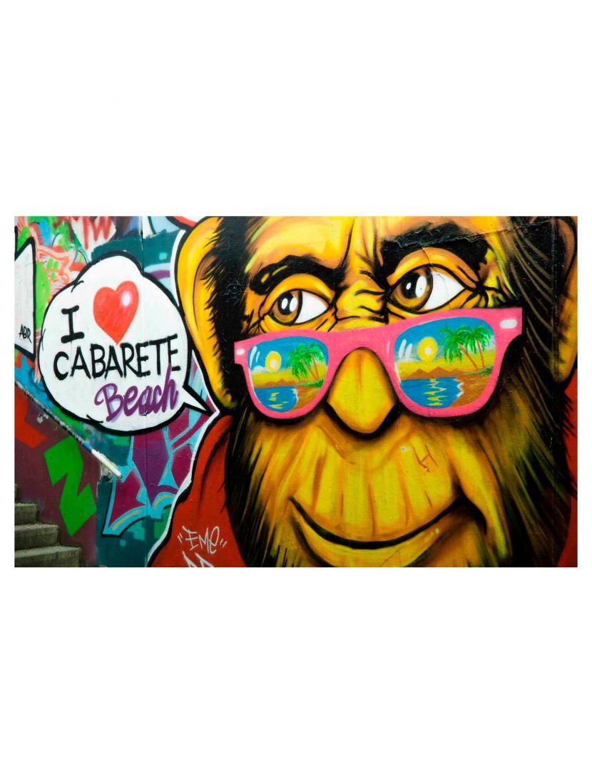 Деревянный пазл «Я люблю пляж Кабарет»