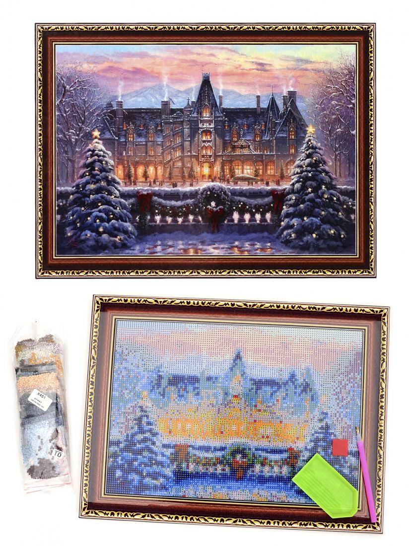 """Алмазная мозаика на подрамнике """"Рождество пришло"""""""