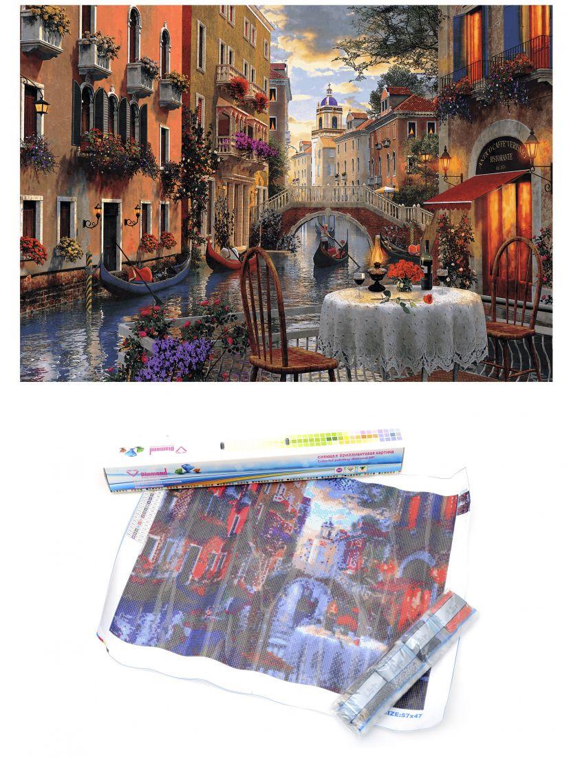 """Алмазная мозаика """"Ужин в Венеции"""""""