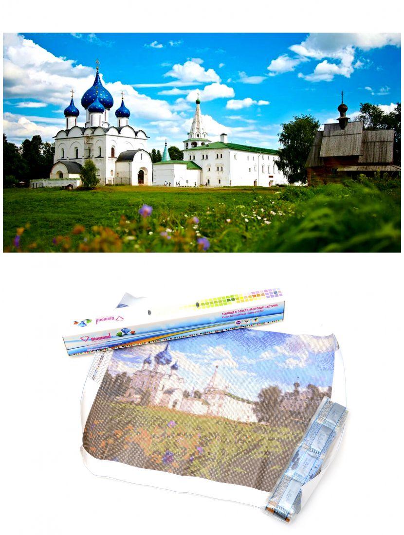 """Алмазная мозаика """"Суздальский кремль"""""""