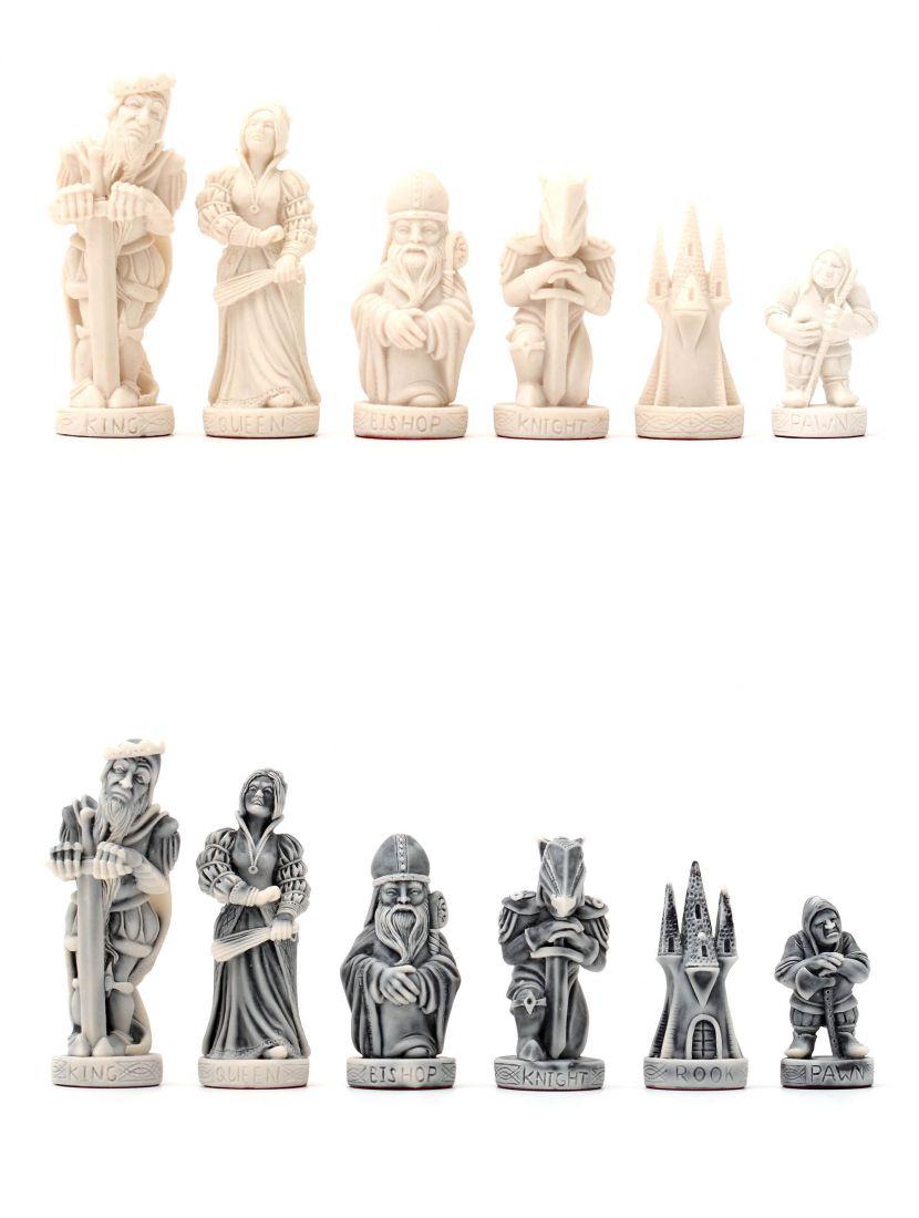 Шахматные фигуры «Средневековье» каменные