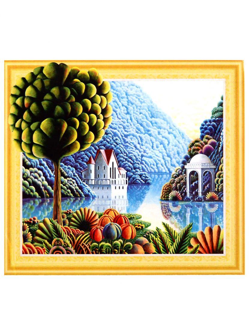 Алмазная мозаика на подрамнике «Дивный странный мир»