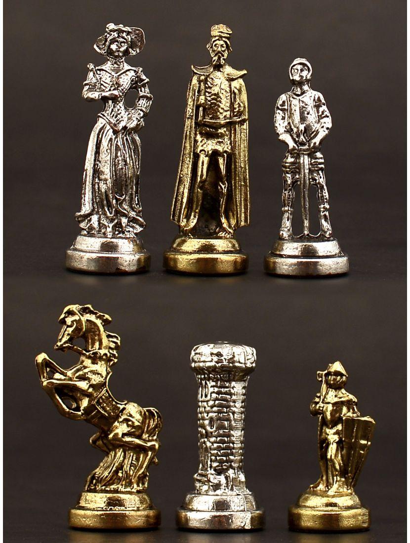 Фигуры «Средние века» металл маленькие