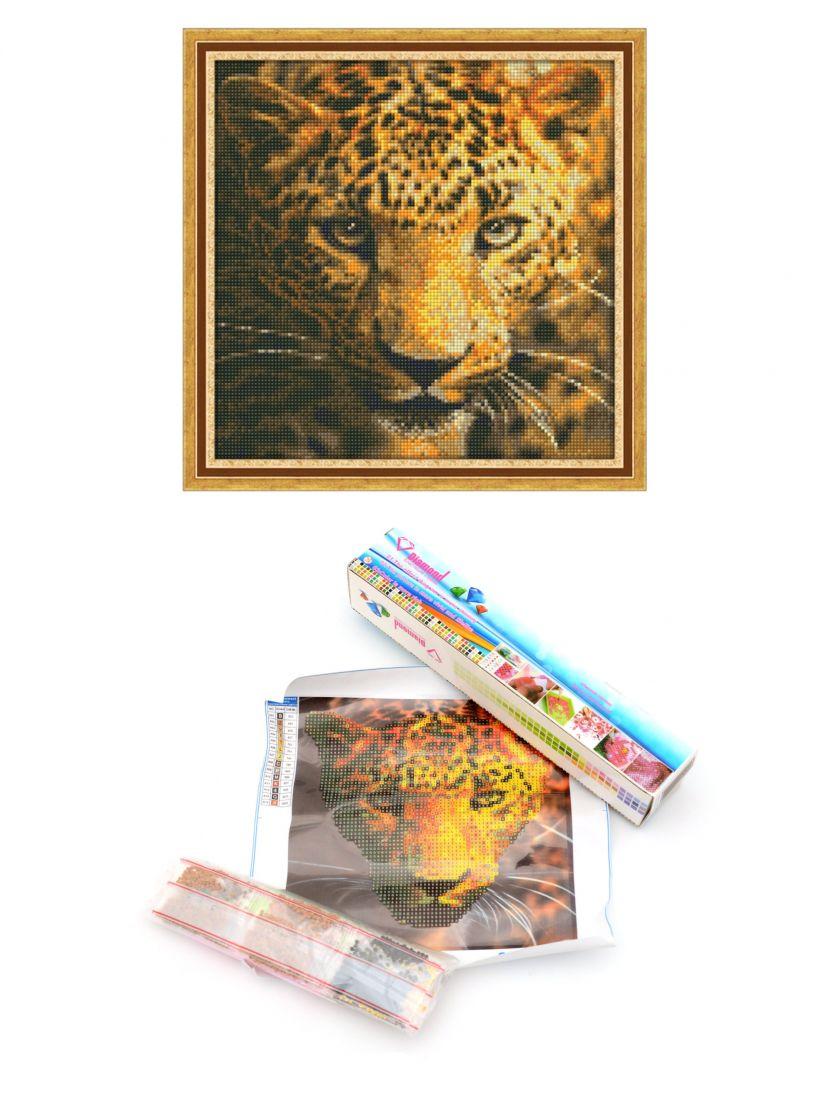Алмазная мозаика «Леопард»