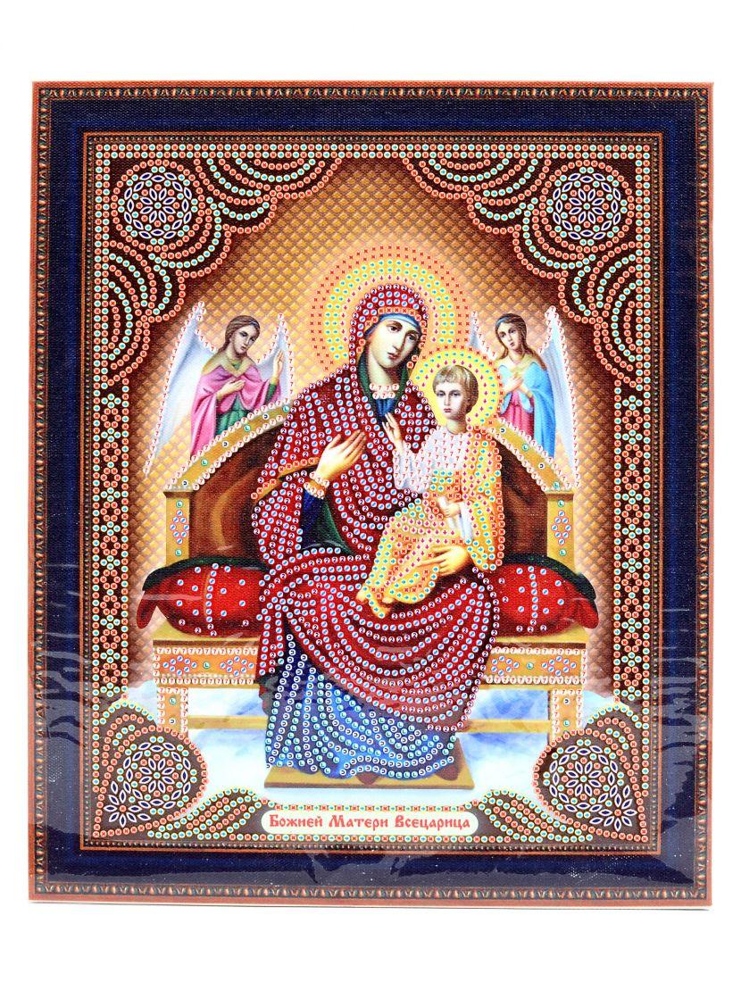 """Алмазная мозаика на подрамнике """"Божией Матери. Всецарица"""" икона"""