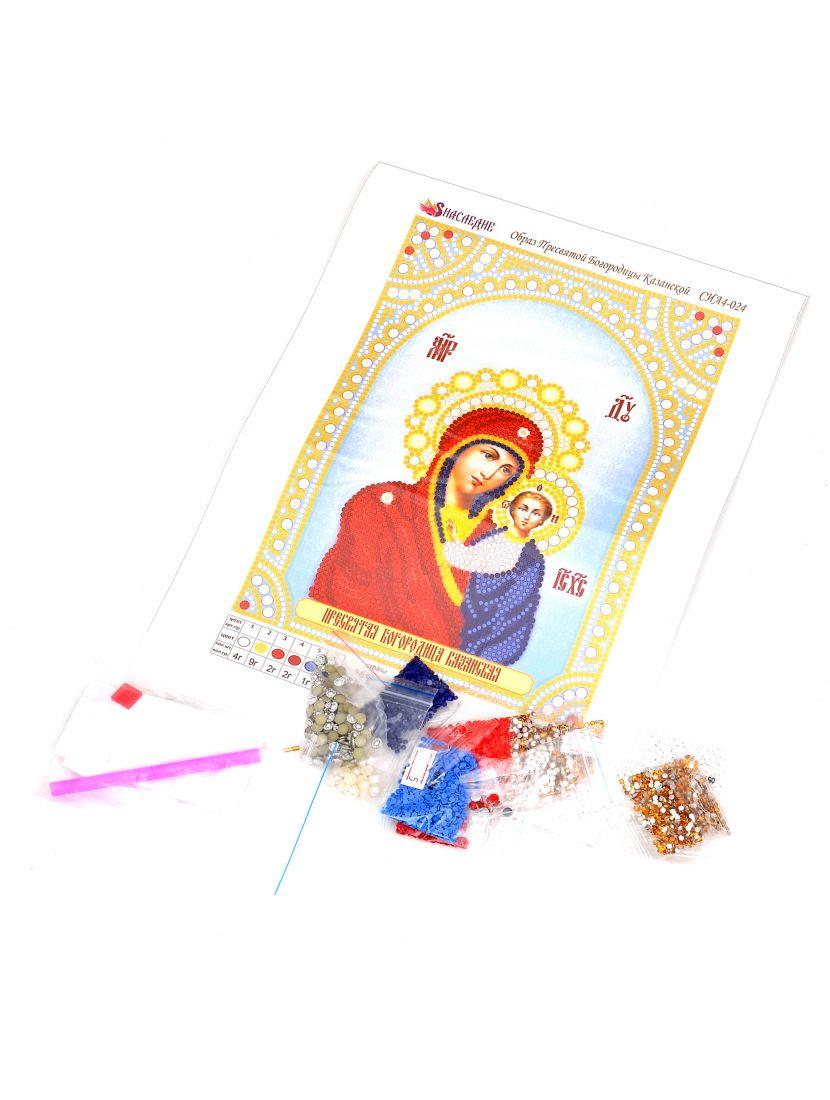 """Алмазная мозаика """"Божией Матери. Казанская"""" икона"""