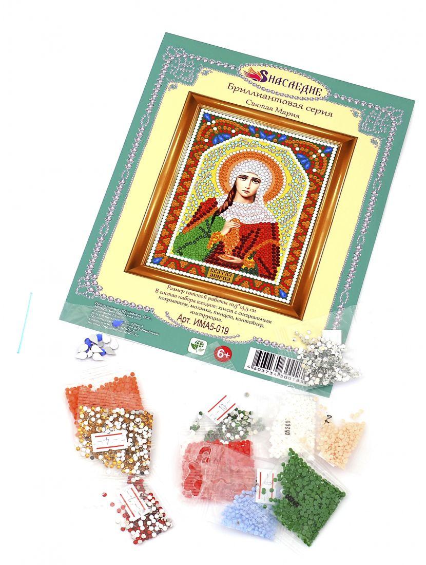 "Алмазная мозаика ""Святая Мария"" алмазная мозаика"