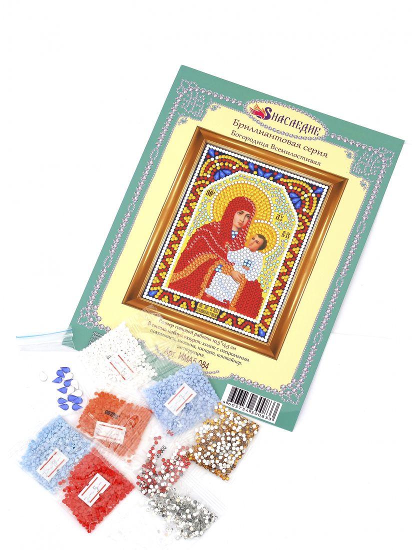 """Алмазная мозаика """"Богородица Всемилостивая"""" икона"""