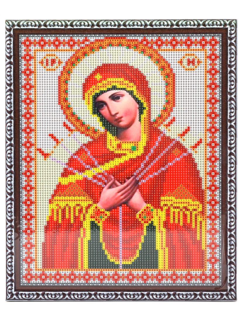 """Алмазная мозаика на подрамнике """"Божией Матери Умиление Злых Сердец"""" икона"""
