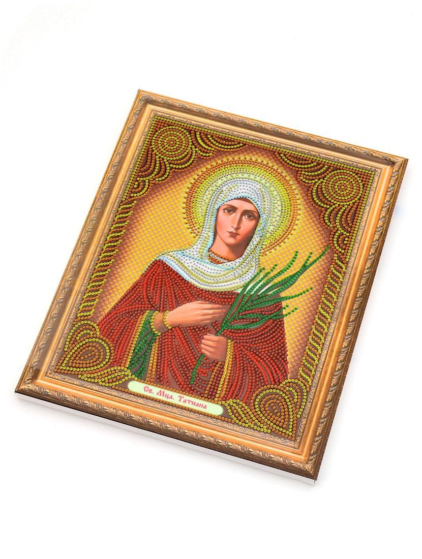 Алмазная мозаика на подрамнике «Святая Татьяна» икона