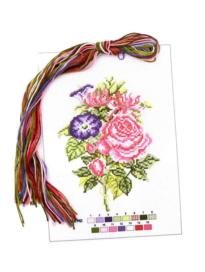 """Набор для вышивания крестом """"Цветы"""""""