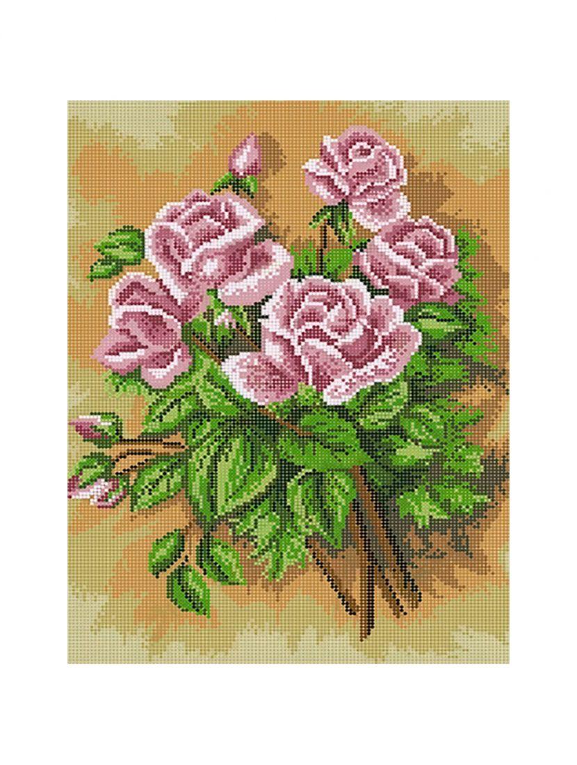 """Схема для вышивания бисером """"Розы на песке"""""""