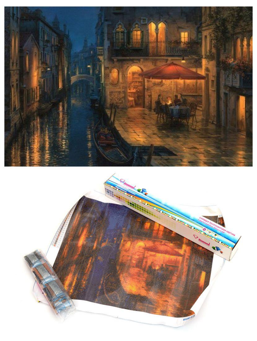 """Алмазная мозаика """"Ночная Венеция"""""""