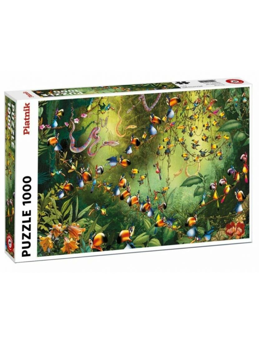 Пазл «Весёлые попугаи» 1000 элементов