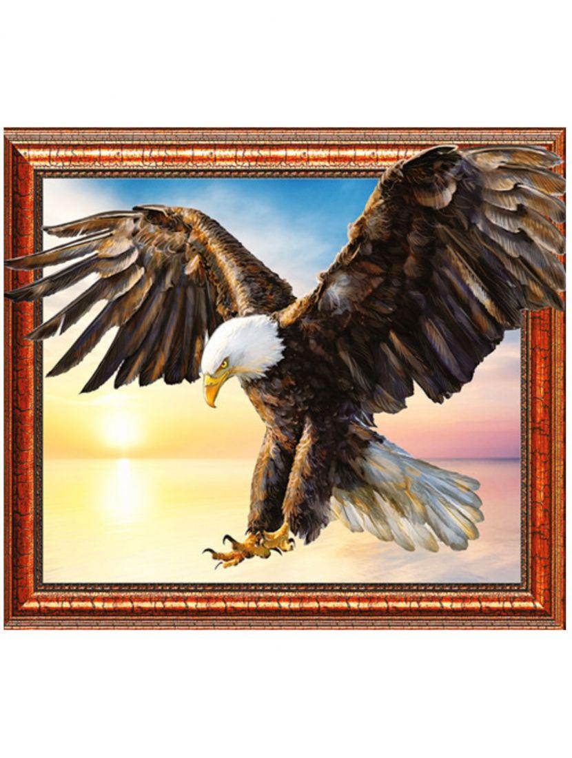 "Алмазная мозаика на подрамнике ""Орел"""