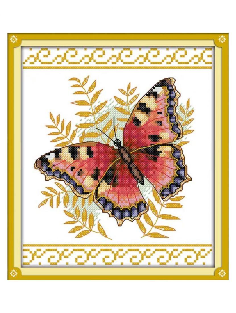 "Алмазная мозаика на подрамнике ""Бабочка"""