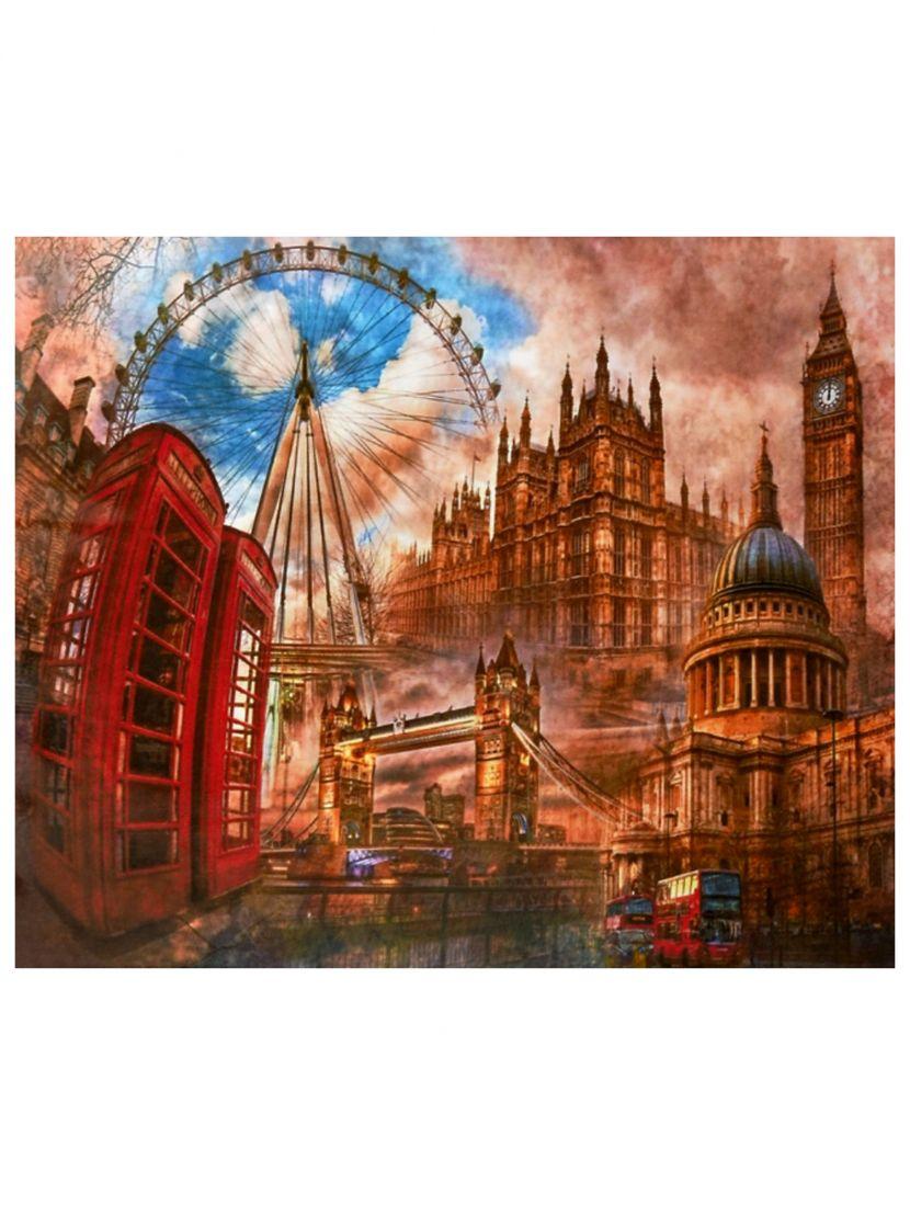 """Картина по номерам  на подрамнике """"Воспоминания о Лондоне"""""""