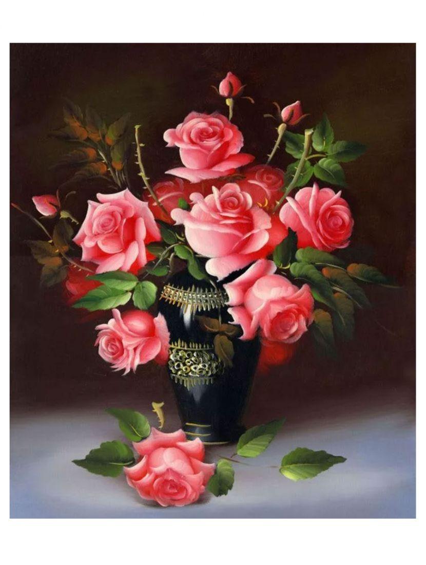 """Алмазная мозаика """"Розы"""""""