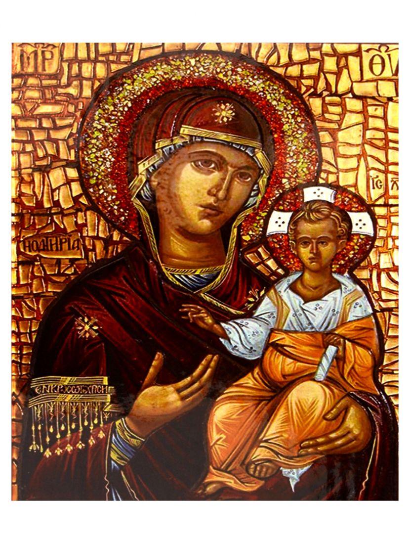"""Алмазная мозаика на подрамнике """"Божией матери"""" икона"""