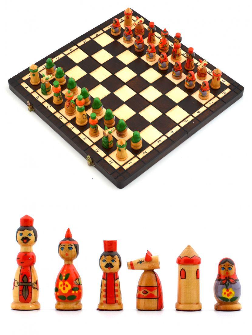 Шахматы «Бабушкины сказки»