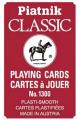 Карты игральные «Classic»  красные Piatnik