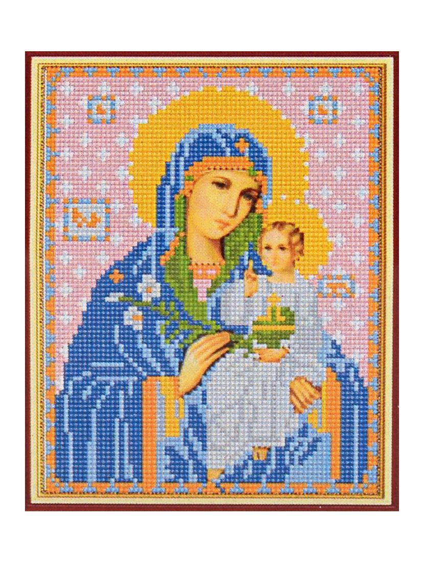 """Алмазная мозаика """"Божией матери Неувядаемый цвет"""" икона"""