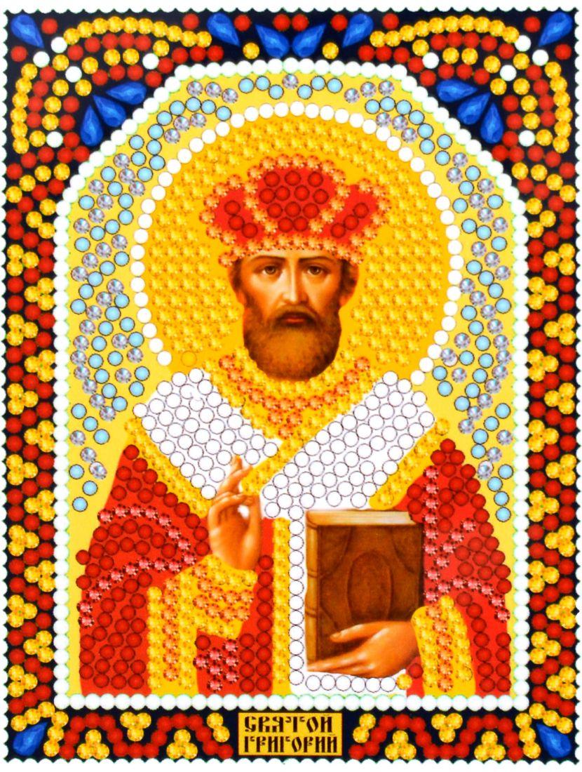 Алмазная мозаика «Святой Григорий» икона