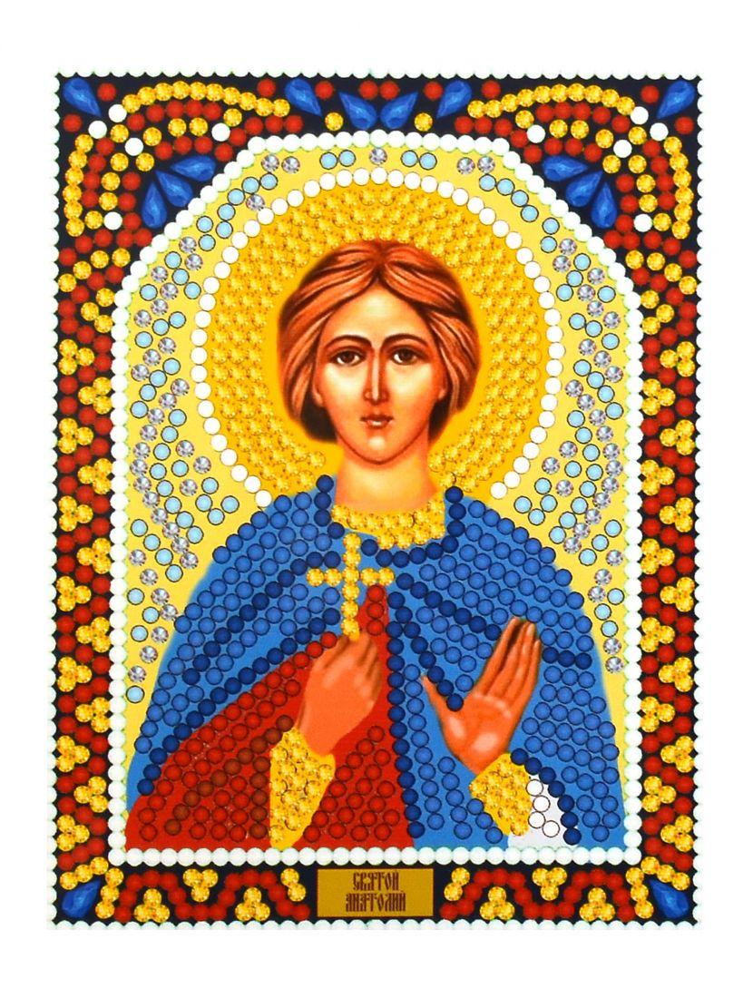 Алмазная мозаика «Святой Анатолий» икона
