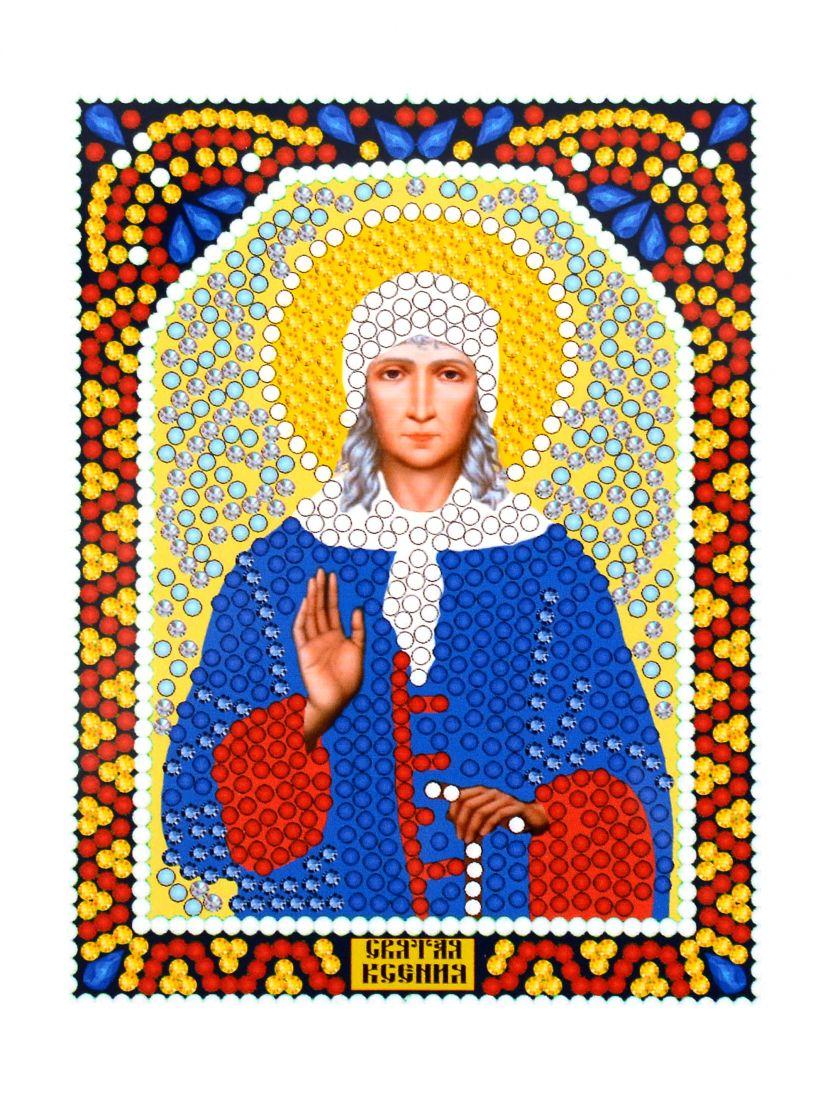 Алмазная мозаика «Святая Ксения» икона