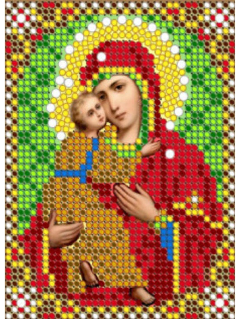 """Алмазная мозаика """"Божией матери Феодоровская"""" икона"""