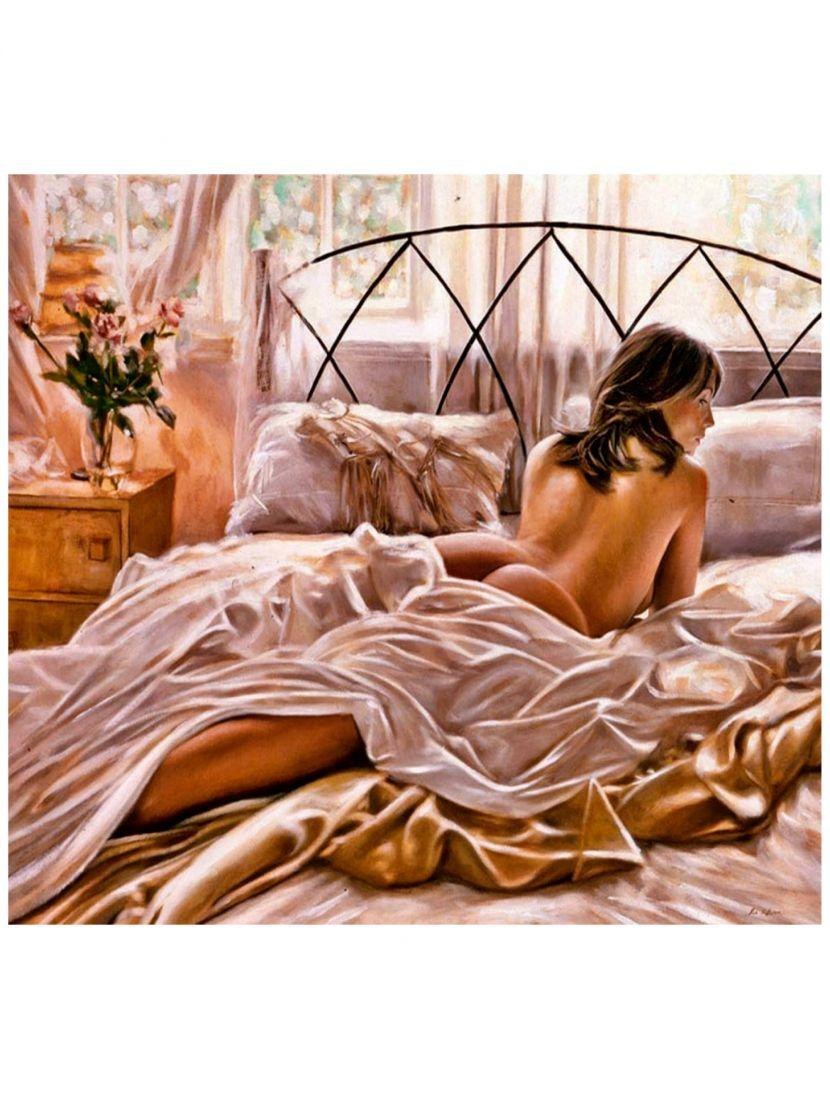 "Картина по номерам  на подрамнике ""Нежное утро"""