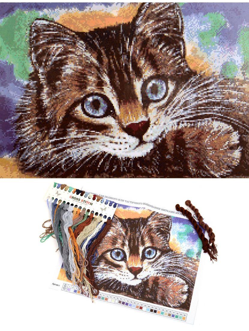 """Набор для вышивания крестом """"Кот"""""""