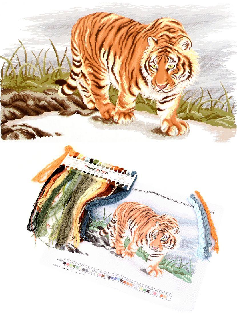"""Набор для вышивания крестом """"Тигр"""""""