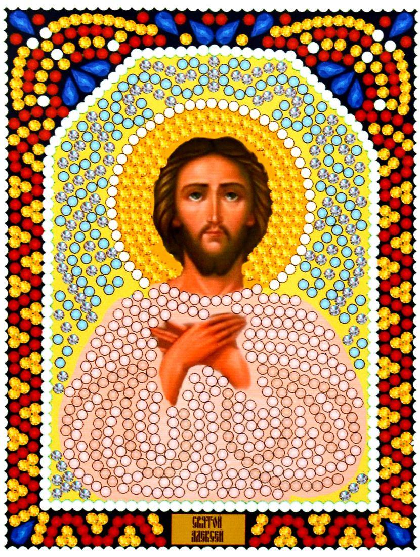 Алмазная мозаика «Святой Алексей» икона