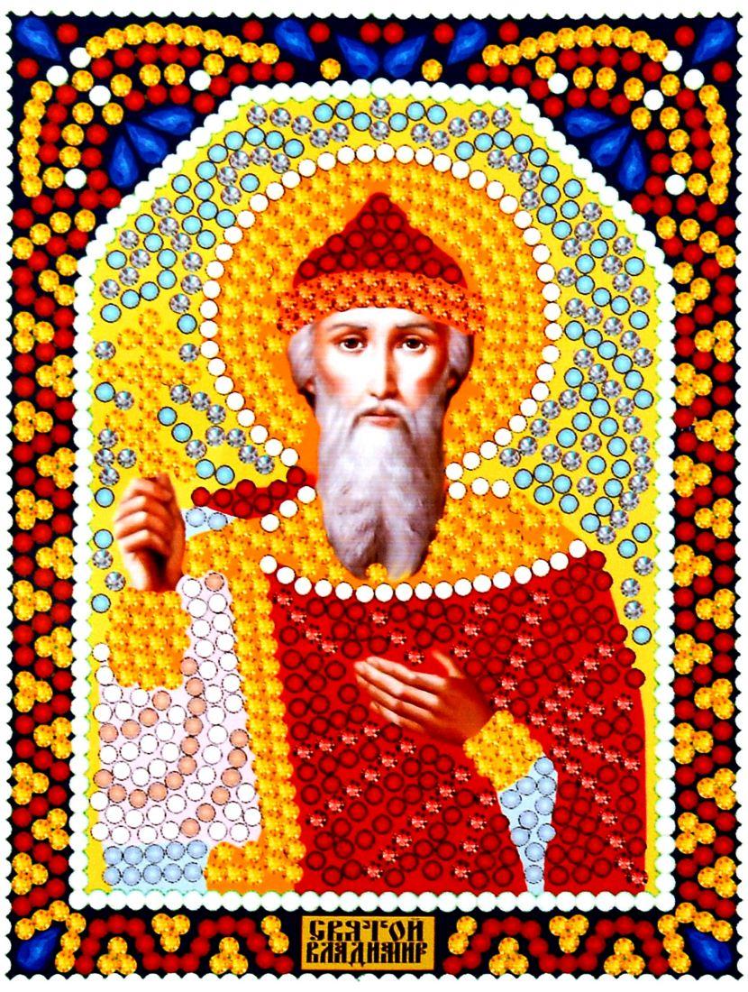 Алмазная мозаика «Святой князь Владимир» икона