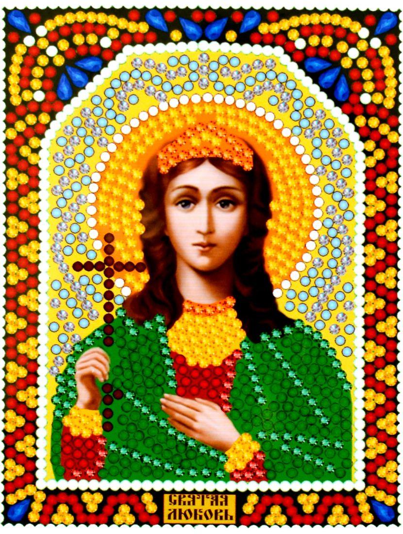 Алмазная мозаика «Святая Любовь» икона
