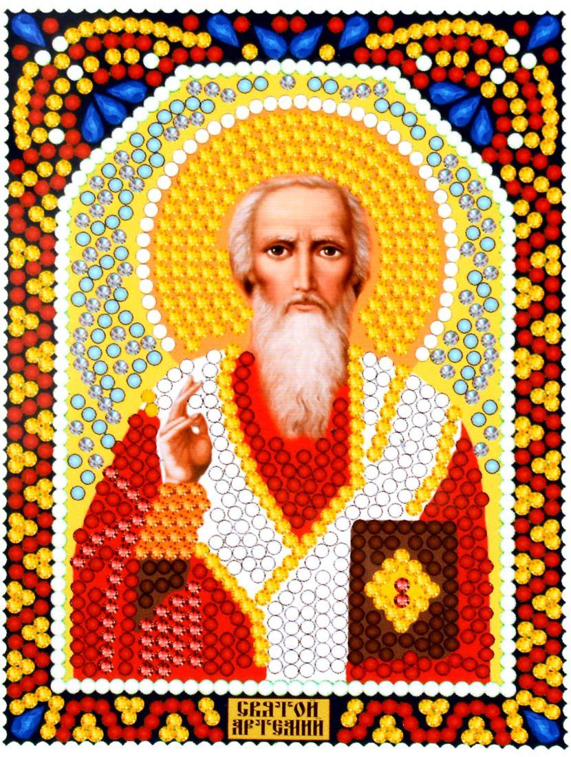 Алмазная мозаика «Святой Артемий Антиохийский» икона