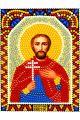 Алмазная мозаика «Святой Виктор» икона