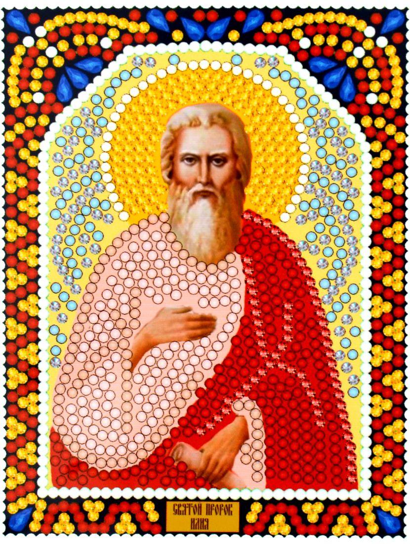 """Алмазная мозаика """"Святой Илья"""" икона"""