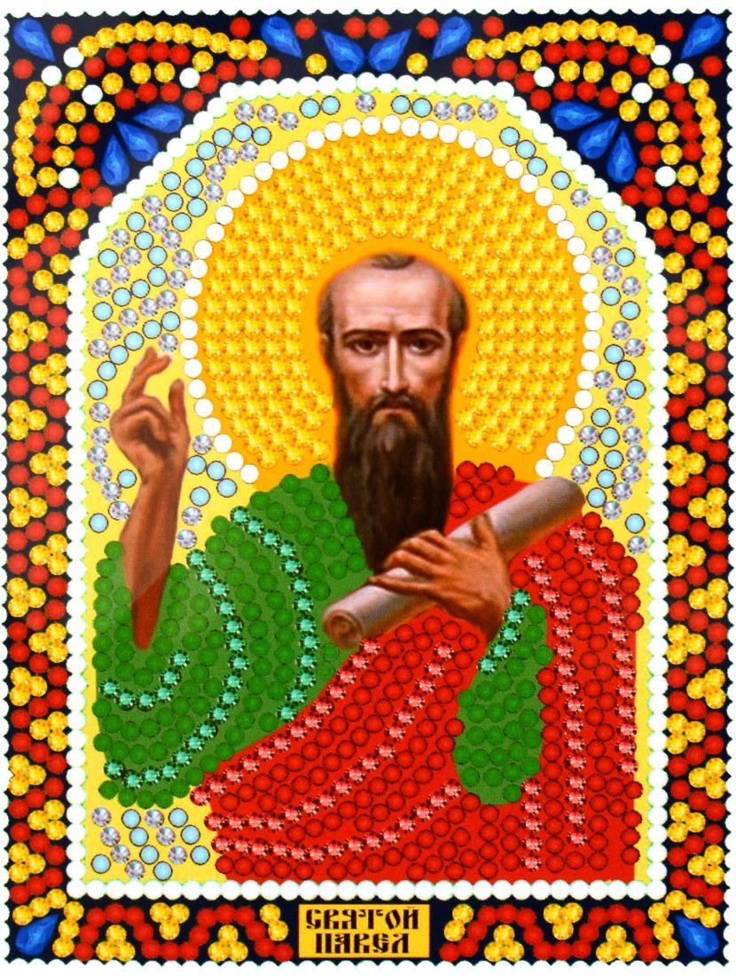 Алмазная мозаика «Святой Павел» икона